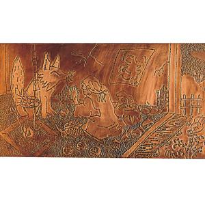 銅レリーフ合板(MDF・A)小サイズ