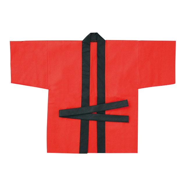 お祭りはっぴ(小)赤 サムネイル