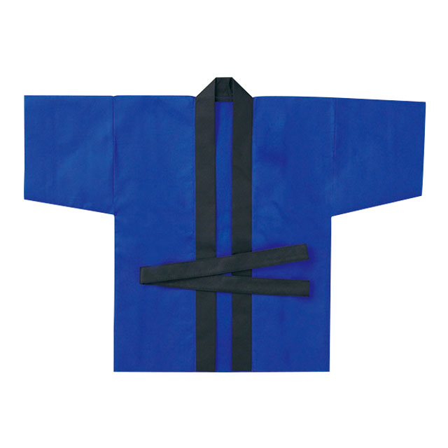 お祭りはっぴ(小)青 サムネイル