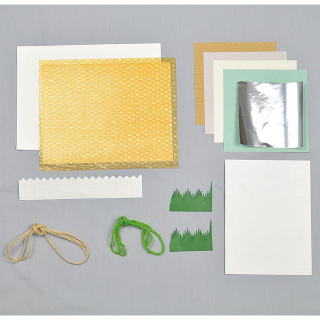 紙版画素材セット