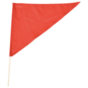 小旗(三角)赤