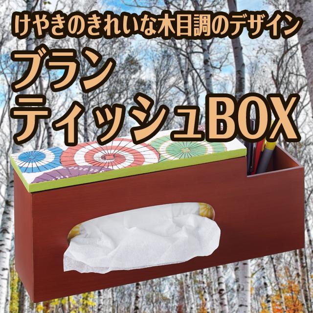 ティッシュボックス工作キット ブランティッシュBOX