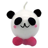 手作りキャンドル パンダ