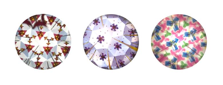 万華鏡の中身のサンプル画像