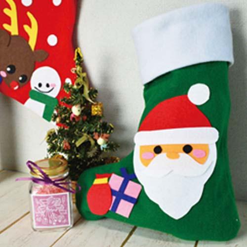 フェルトでくつした【クリスマス用くつしたキット】 サムネイル