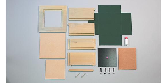 グラスアートボックス セット内容