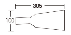 09110-09114羽子板 小 サイズ・大きさ