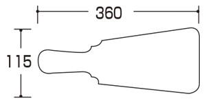 09110-09114羽子板 大 サイズ・大きさ
