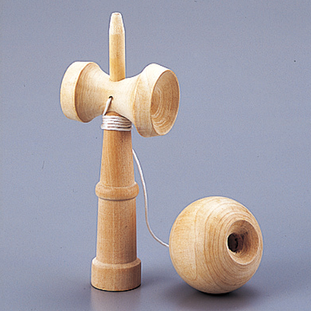 09150木のけん玉(ひも付き) 商品写真