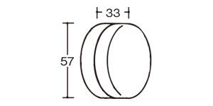 09170ヨーヨー(ひも付き)|大きさ・サイズ