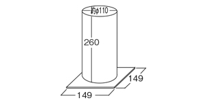 ゆめランプ|サイズ、大きさ