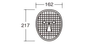 31100おめんづくり芯材|大きさ・サイズ