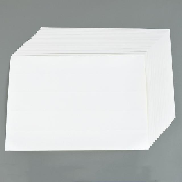 ステンシルローラー型紙シート (剥離粘着)