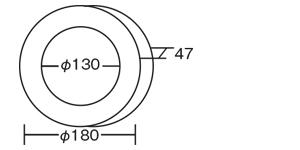 プチアート&クロック(時計セットのみ) サイズ、大きさ