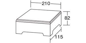 ミドルボックス|サイズ・大きさ