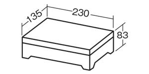 オルゴール箱工作キット マイオルゴール C サイズ、大きさ