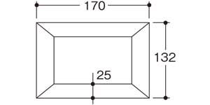 木彫フォトフレームL・サイズ