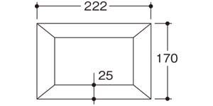 木彫フォトフレーム2L・サイズ