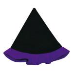 フェルトでとんがり帽子・紫
