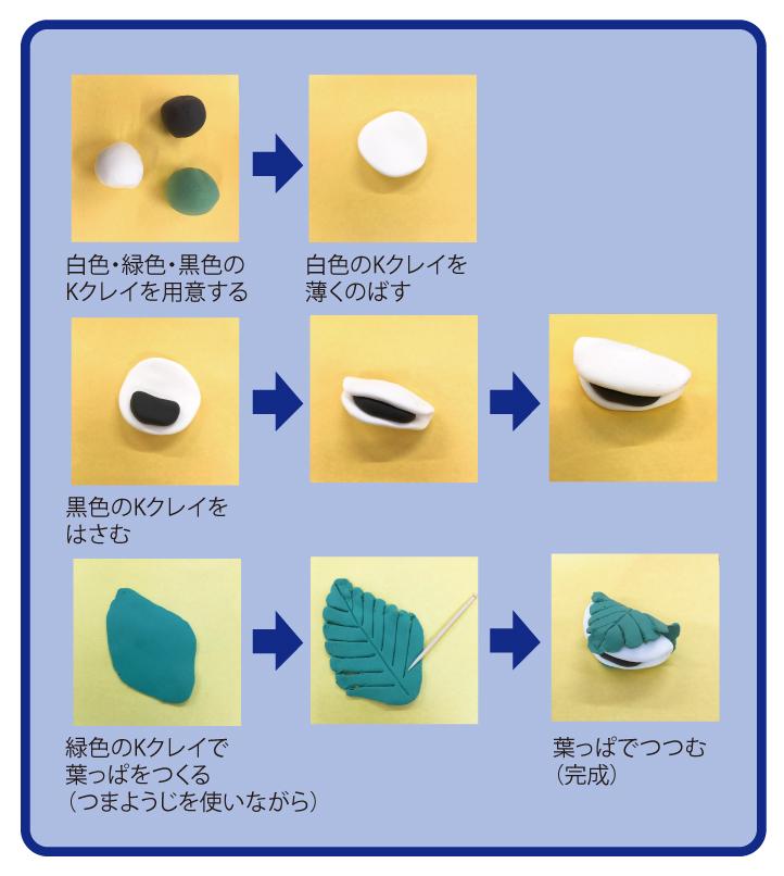 柏餅の作り方