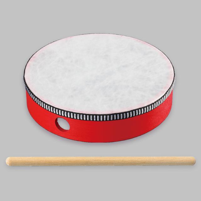 完成済太鼓(バチ付き)|商品写真