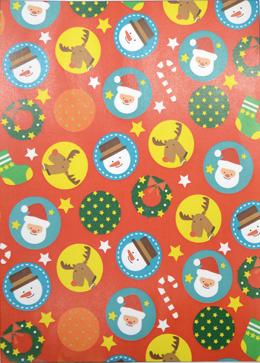 クリスマスの模造紙