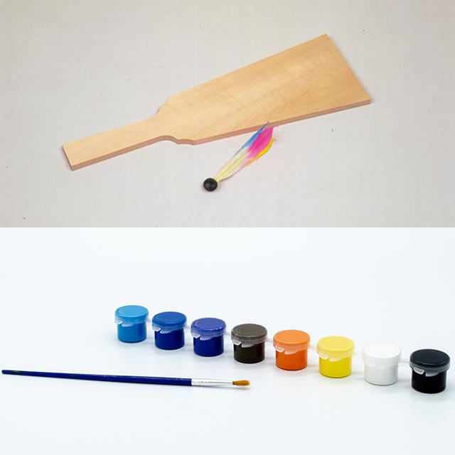 羽子板 絵具付き(10個セット) サムネイル