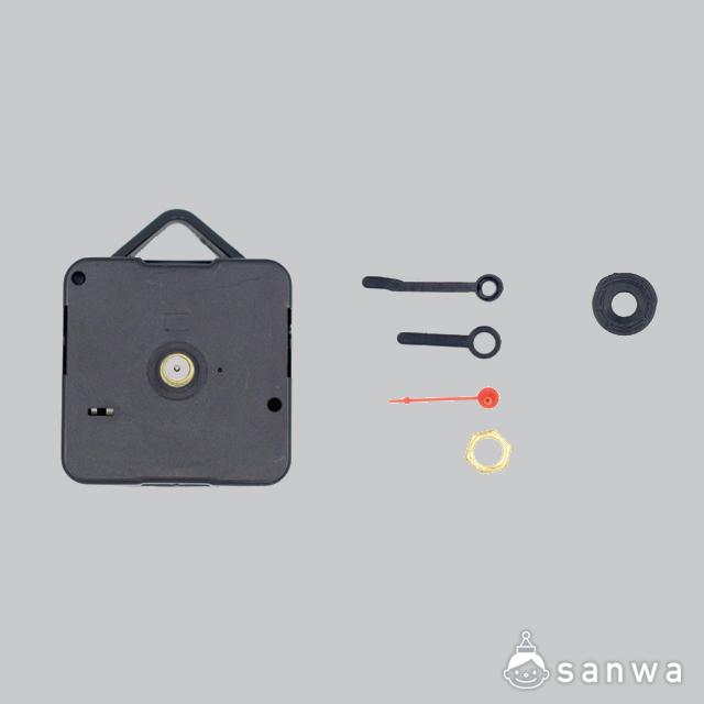 木のおえかき時計|セット画像時計