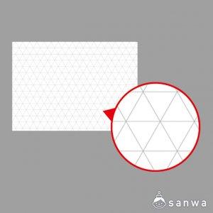 平面構成・正三角形方眼商品画像