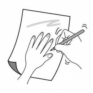 手の骨と関節の動き