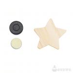 木のマグネットシリーズ O 星|セット内容