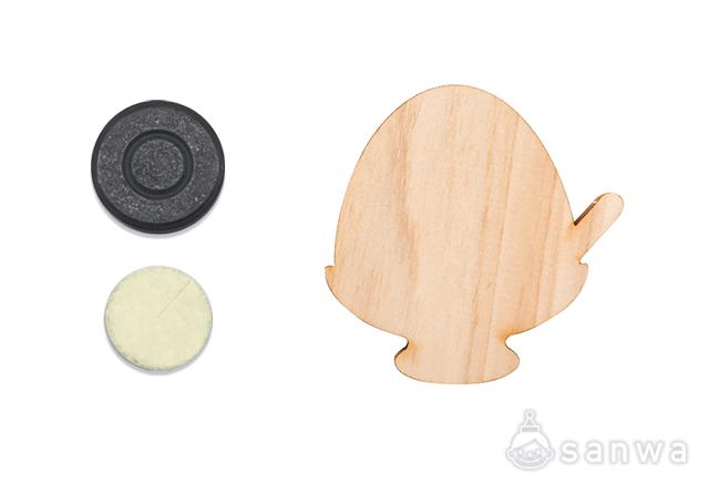 木のマグネットシリーズ F かき氷|セット内容
